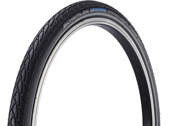 "SCHWALBE Marathon Plus Tyre Performance 20"", wire bead black-reflex"